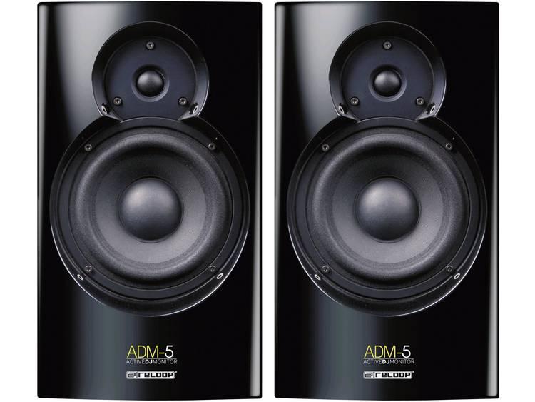 Actieve studio monitor 13.3 cm 5.25 inch Reloop ADM-5 30 W 1 paar