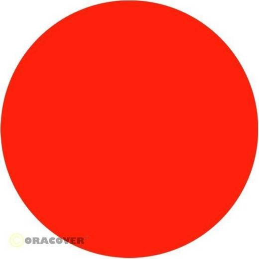 Oracover Easyplot 52-064-002 Plotterfolie (l x b) 2000 mm x 200 mm Rood-oranje (fluorescerend)