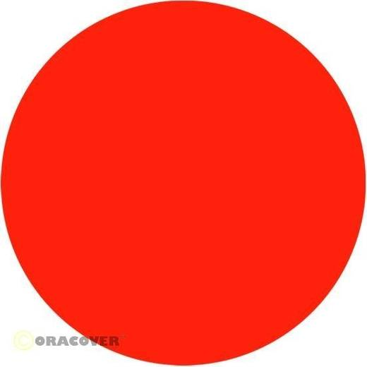 Oracover Oratrim 27-064-002 Decoratiestrepen (l x b) 2 m x 9.5 cm Rood-oranje (fluorescerend)