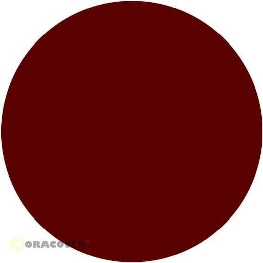 Strijkfolie Oracover 22-020-002 (l x b) 2000 mm x 600 mm Schaal-rood