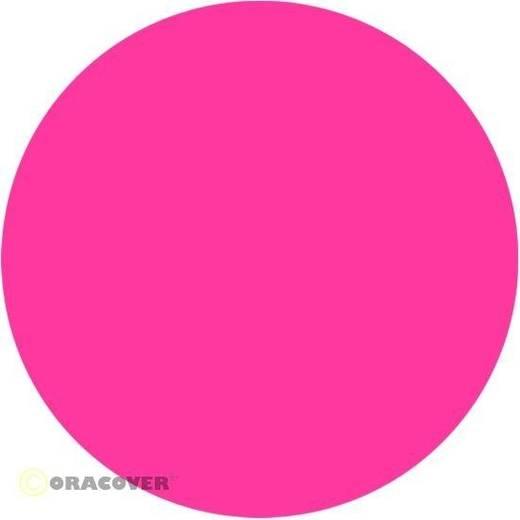 Strijkfolie Oracover 21-014-002 (l x b) 2 m x 60 cm Neon-roze (fluorescerend)