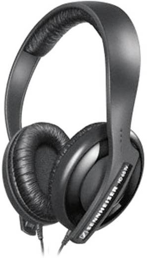 Sennheiser HD 65 TV On Ear Koptelefoon Volumeregeling Zwart