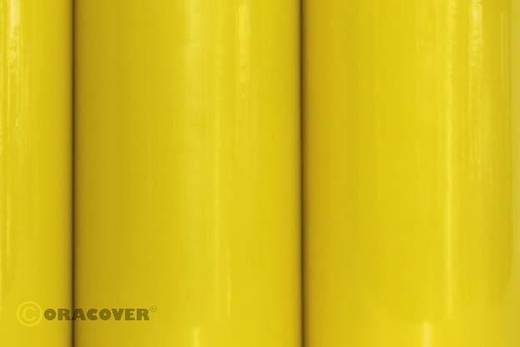 Oracover Easyplot 84-039-010 Plotterfolie (l x b) 10 m x 38 cm Transparant geel