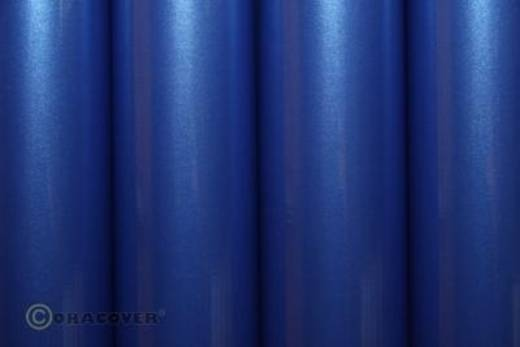 Strijkfolie Oracover 21-057-010 (l x b) 10000 mm x 600 mm Parelmoer blauw