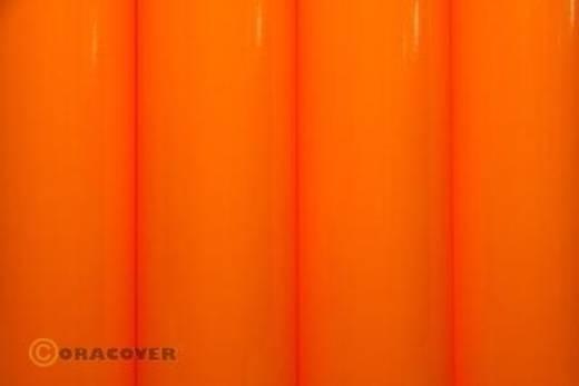 Strijkfolie Oracover 21-065-002 (l x b) 2000 mm x 600 mm Feloranje (fluorescerend)