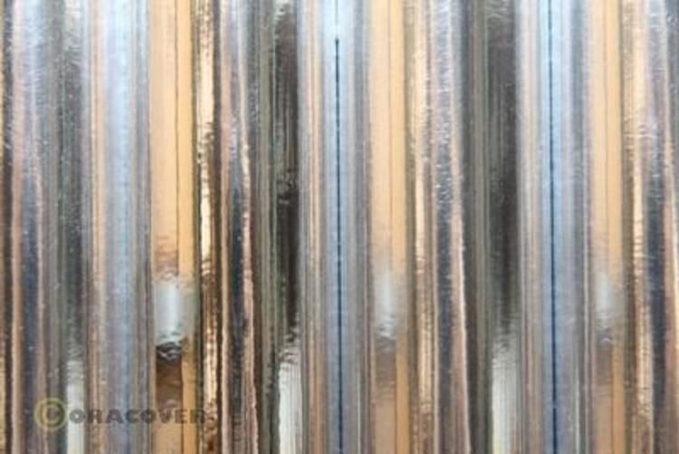 Image of Strijkfolie Oracover 21-090-002 (l x b) 2 m x 60 cm Chroom