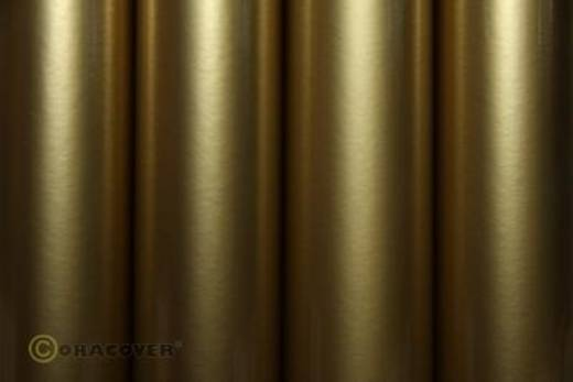 Strijkfolie Oracover 21-092-002 (l x b) 2000 mm x 600 mm Goud