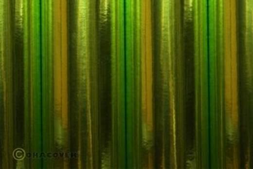 Strijkfolie Oracover 21-095-002 (l x b) 2 m x 60 cm Chroom-lichtgroen