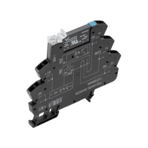 Weidmüller TOZ 12VDC 48VDC0,1A Halfgeleiderrelais 10 stuks Laadstroom (max.): 100 mA Schakelspanning (max.): 48 V/DC