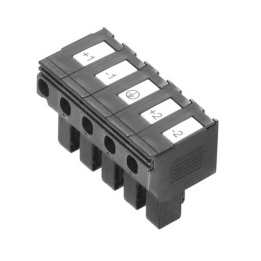 Weidmüller PTS 4 DC Veiligheids-connector Flexibel: 0.5-4 mm² Massief: 0.5-4 mm² Aantal polen: 5 10 stuks Zwart