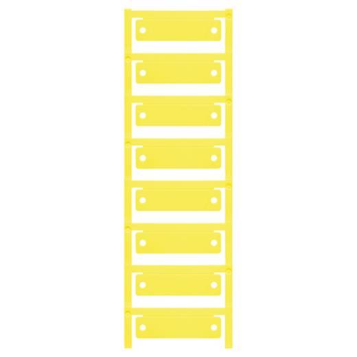 Apparaatmarkering Montagemethode: Vastklemmen Markeringsvlak: 60 x 15 mm Geschikt voor serie Frames Geel Weidmüller CC 1