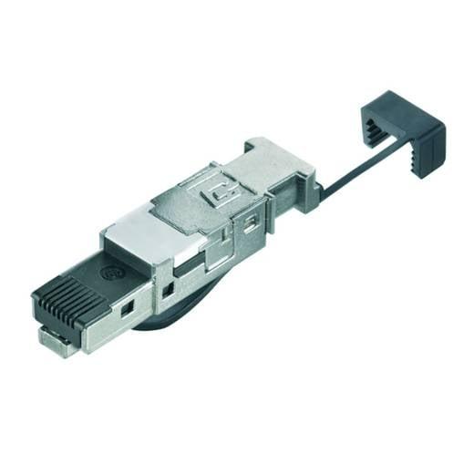 Stekker RJ45 zonder gereedschap Stekker, recht IE-PS-RJ45-FH-BK-P IE-PS-RJ45-FH-BK-P Weidmüller Inhoud: 10 stuks