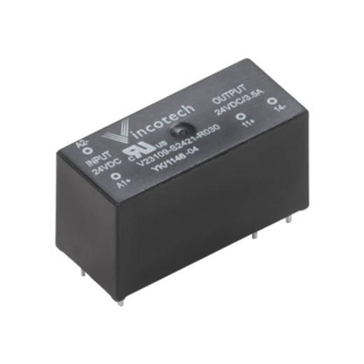 Weidmüller SSR 24VDC/MAX.240VAC 1A Halfgeleiderrelais 20 stuks Laadstroom (max.): 1 A Schakelspanning (max.): 240 V/AC