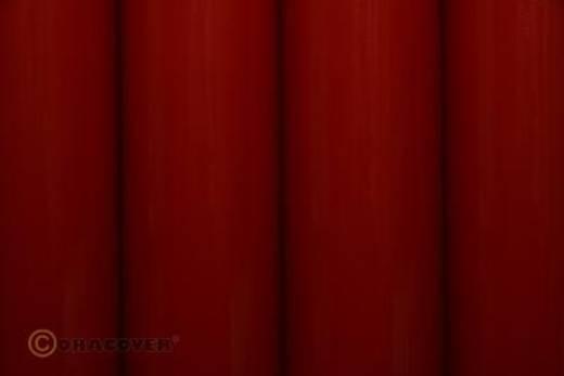 Strijkfolie Oracover 22-020-010 (l x b) 10000 mm x 600 mm Schaal-rood