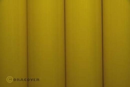 Oracover Orastick 23-033-010 Plakfolie (l x b) 10 m x 60 cm Schaal-geel