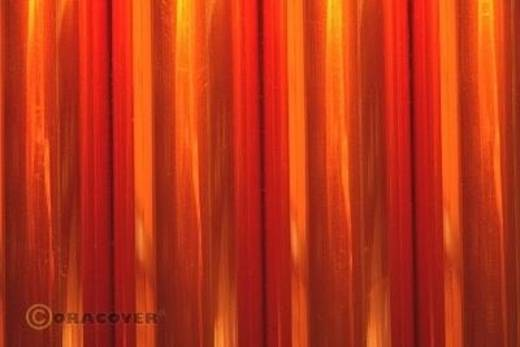 Strijkfolie Oracover 321-069-002 Air Outdoor (l x b) 2000 mm x 600 mm Oranje (transparant)