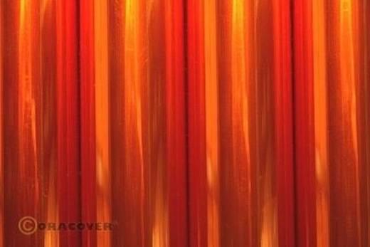 Strijkfolie Oracover 321-069-010 Air Outdoor (l x b) 10000 mm x 600 mm Oranje (transparant)