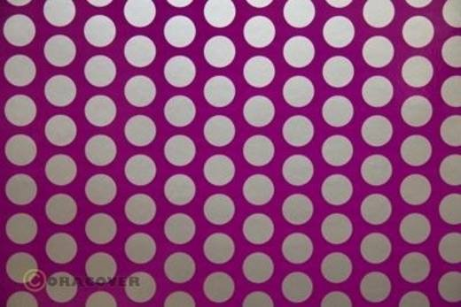 Oracover Easyplot Fun 1 91-015-091-010 Plotterfolie (l x b) 10 m x 38 cm Violet-zilver (fluorescerend)