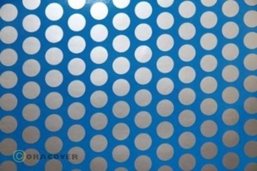 Oracover Easyplot Fun 1 91-051-091-010 Plotterfolie (l x b) 10 m x 38 cm Blauw-zilver (fluorescerend)
