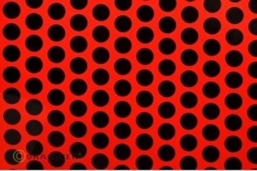 Oracover Easyplot Fun 1 93-021-071-010 Plotterfolie (l x b) 10 m x 30 cm Rood-zwart (fluorescerend)