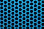 EASYPLOT FUN 1 breedte: 30 cm lengte: 2 m fluor. blauw - zwart