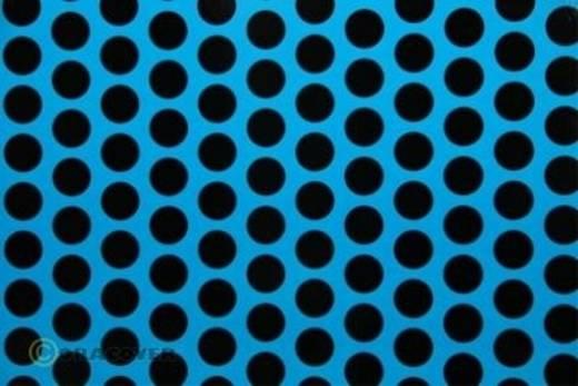 Oracover Easyplot Fun 1 93-051-071-010 Plotterfolie (l x b) 10 m x 30 cm Blauw-zwart (fluorescerend)
