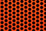 EASYPLOT FUN 1 breedte: 30 cm lengte: 2 m fluor. roodoranje - zwart