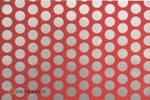 Oracover FUN 1 Breedte: 60 cm Lengte: 2 m fluor. rood - zilver
