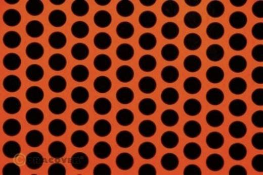 Strijkfolie Oracover 41-064-071-002 Fun 1 (l x b) 2 m x 60 cm Rood-oranje-zwart (fluorescerend)