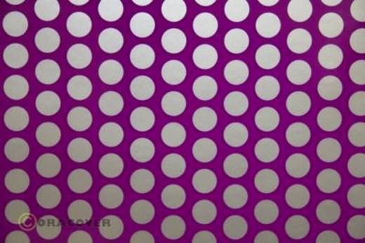 Strijkfolie Oracover 41-015-091-010 Fun 1 (l x b) 10 m x 60 cm Violet-zilver (fluorescerend)