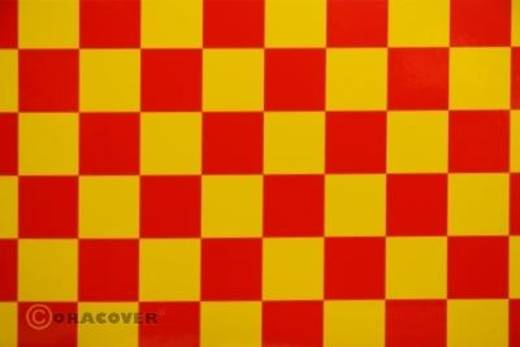 Strijkfolie Oracover 43-033-023-010 Fun 3 (l x b) 10 m x 60 cm Geel-rood