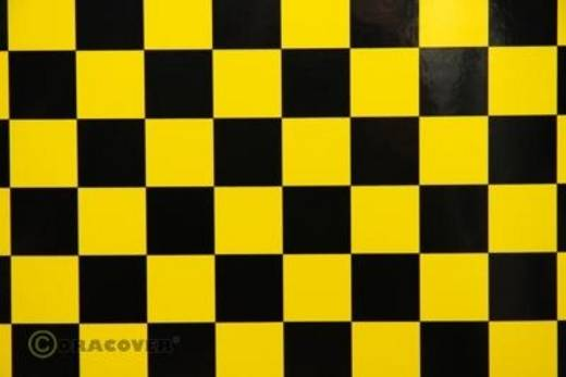 Oracover Orastick Fun 3 47-033-071-010 Plakfolie (l x b) 10000 mm x 600 mm Geel-zwart