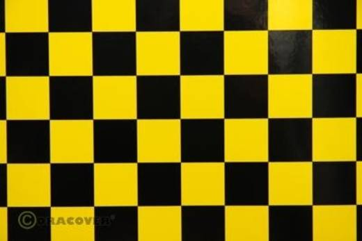 Strijkfolie Oracover 43-033-071-002 Fun (l x b) 2000 mm x 600 mm Geel-zwart