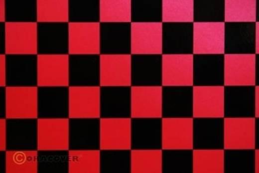 Strijkfolie Oracover 43-027-071-002 Fun (l x b) 2000 mm x 600 mm Parelmoer rood-zwart