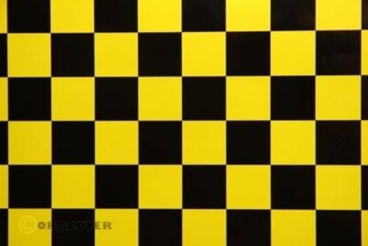 Strijkfolie Oracover 43-036-071-010 Fun (l x b) 10000 mm x 600 mm Parelmoer geel-zwart
