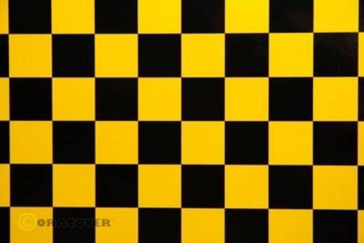 Strijkfolie Oracover 43-037-071-010 Fun (l x b) 10000 mm x 600 mm Parelmoer goudgeel-zwart