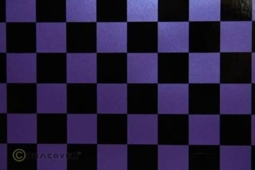 Strijkfolie Oracover 43-056-071-002 Fun (l x b) 2000 mm x 600 mm Parelmoer lila-zwart