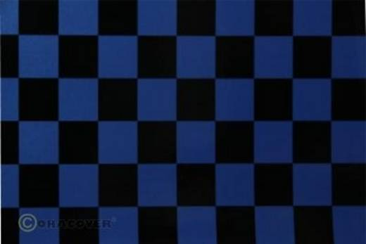 Strijkfolie Oracover 43-057-071-010 Fun (l x b) 10000 mm x 600 mm Parelmoer blauw-zwart