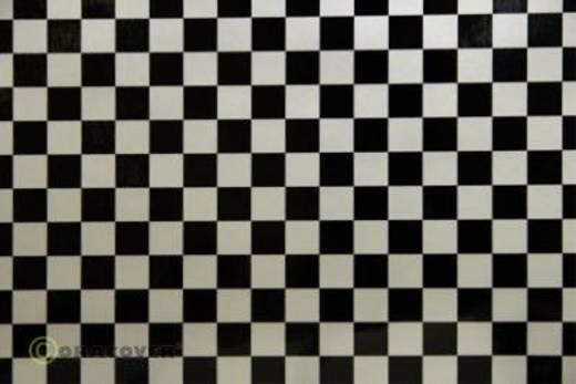 Strijkfolie Oracover 44-016-071-010 Fun 4 (l x b) 10 m x 60 cm Parelmoer wit-zwart