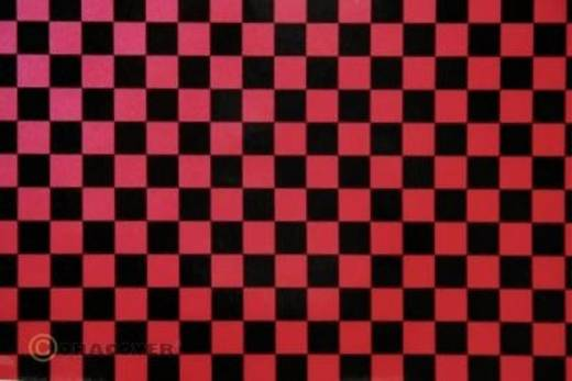 Strijkfolie Oracover 44-027-071-002 Fun 4 (l x b) 2 m x 60 cm Parelmoer rood-zwart