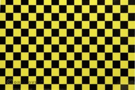 Strijkfolie Oracover 44-036-071-002 Fun 4 (l x b) 2 m x 60 cm Parelmoer geel-zwart