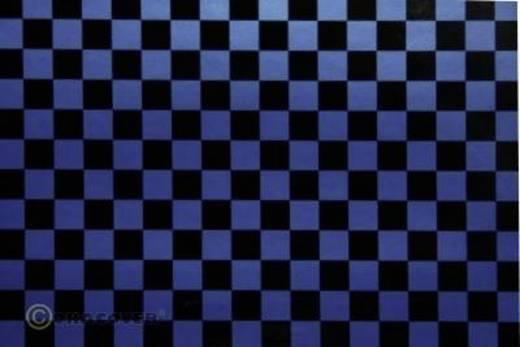 Strijkfolie Oracover 44-057-071-002 Fun 4 (l x b) 2 m x 60 cm Parelmoer blauw-zwart