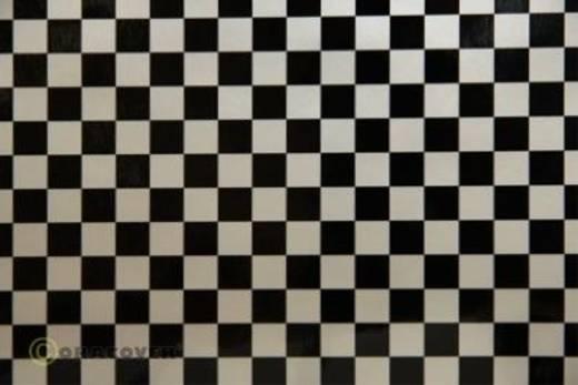 Oracover Easyplot Fun 4 99-016-071-010 Plotterfolie (l x b) 10 m x 38 cm Parelmoer wit-zwart