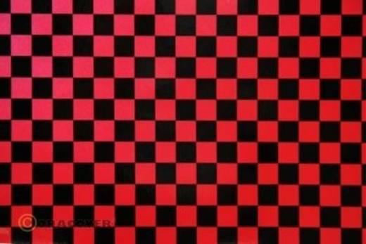 Oracover Easyplot Fun 6 89-027-071-010 Plotterfolie (l x b) 10000 mm x 600 mm Parelmoer rood-zwart