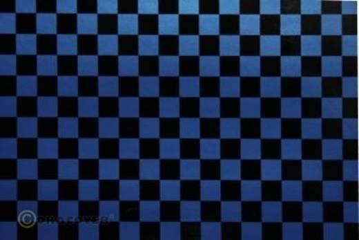 Oracover Easyplot Fun 4 99-057-071-010 Plotterfolie (l x b) 10 m x 38 cm Parelmoer blauw-zwart