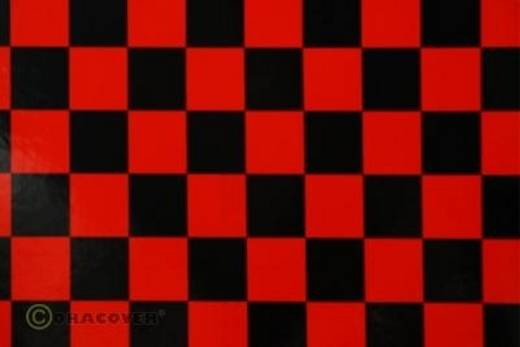 Oracover Orastick Fun 3 47-023-071-002 Plakfolie (l x b) 2000 mm x 600 mm Rood/zwart