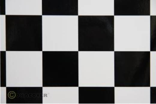 Strijkfolie Oracover 491-010-071-002 Fun 5 (l x b) 2 m x 60 cm Wit-zwart