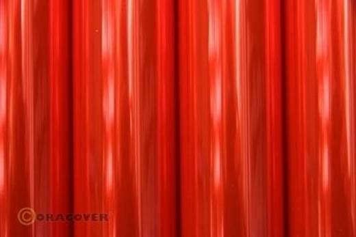 Strijkfolie Oracover 21-026-010 (l x b) 10 m x 60 cm Rood (transparant-fluorescerend)
