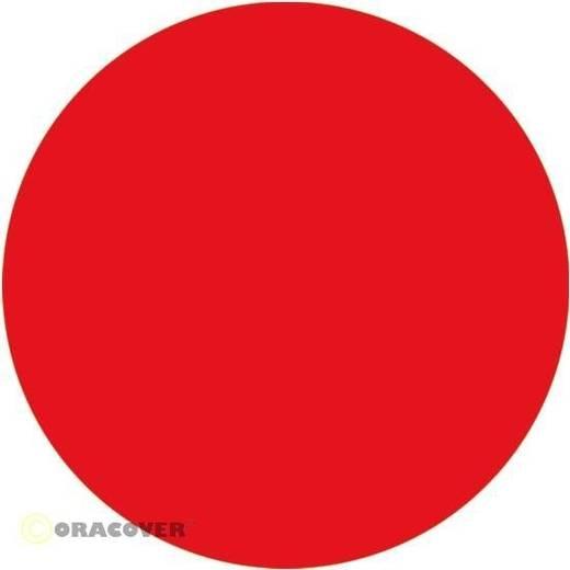 Oracover Easyplot 80-026-002 Plotterfolie (l x b) 2000 mm x 600 mm Transparant rood (fluorescerend)