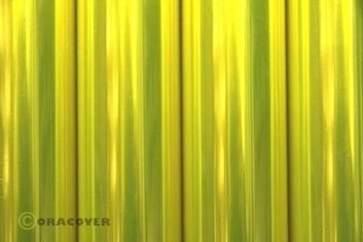 Strijkfolie Oracover 321-035-010 Air Outdoor (l x b) 10000 mm x 600 mm Geel (transparant-fluorescerend)